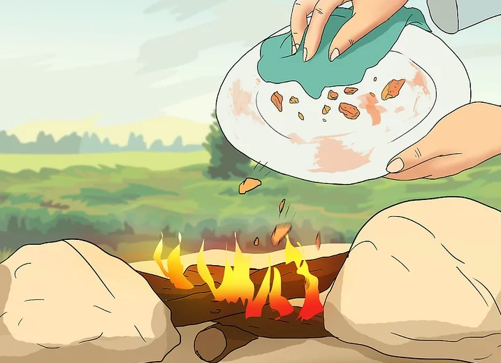 How to Clean Dishes on a Camping Trip