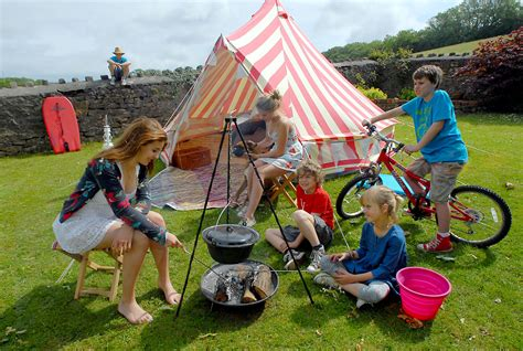 Why camping with your  family?