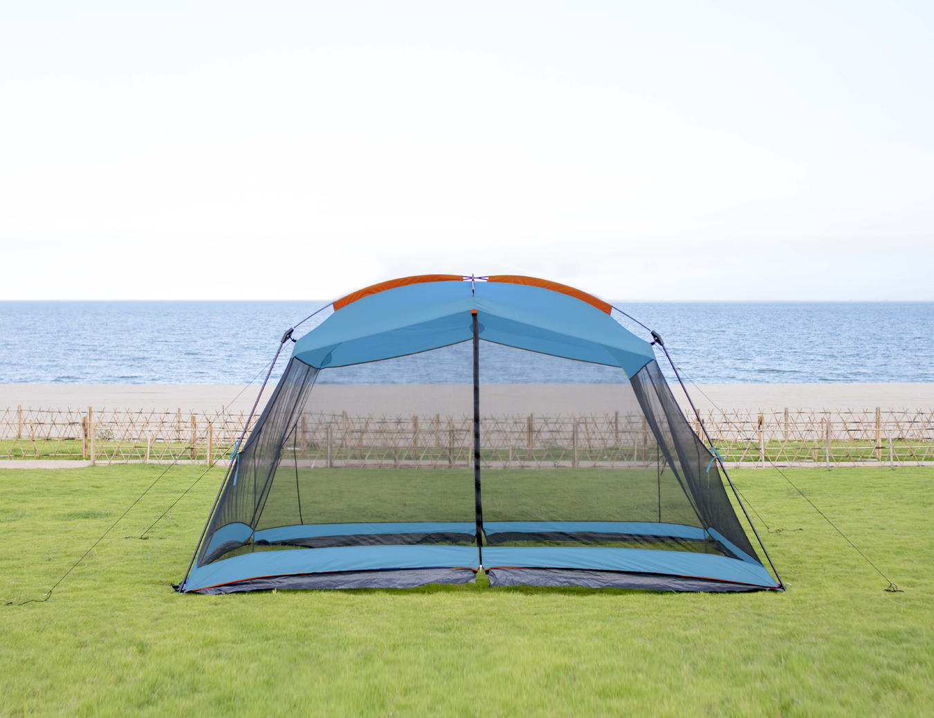 RORAIMA Bugs Proof Roomy Screen House 13'x9'x6.9', Instant Canopy Shelter Screen Tent,Easy Installat
