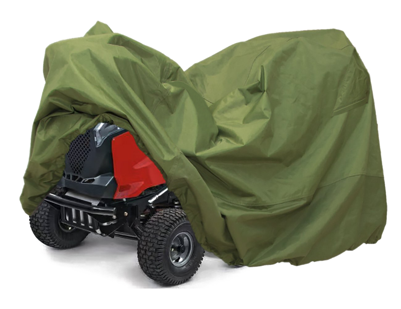 Lawn Mower Tractor Cover with Elastic Hems to Fit a Deck up to 54