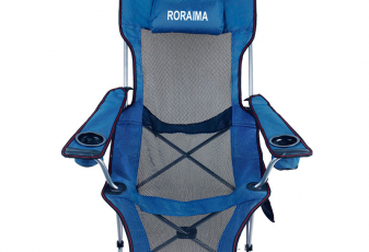 Camping Recliner Chair with footrest
